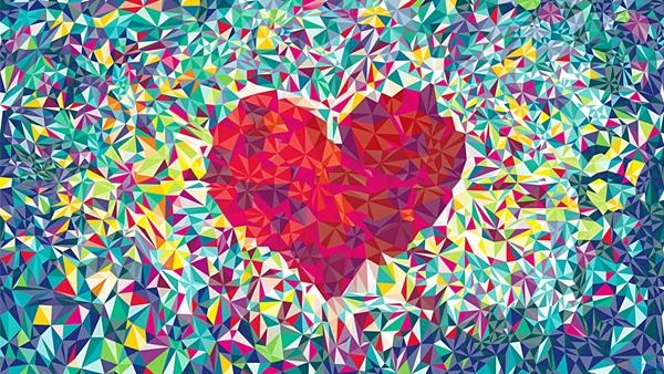 big-love heart graphic